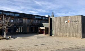 Vestby skole inngang