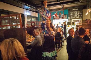 Foto av flamencodanserinne