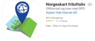 App norgeskart