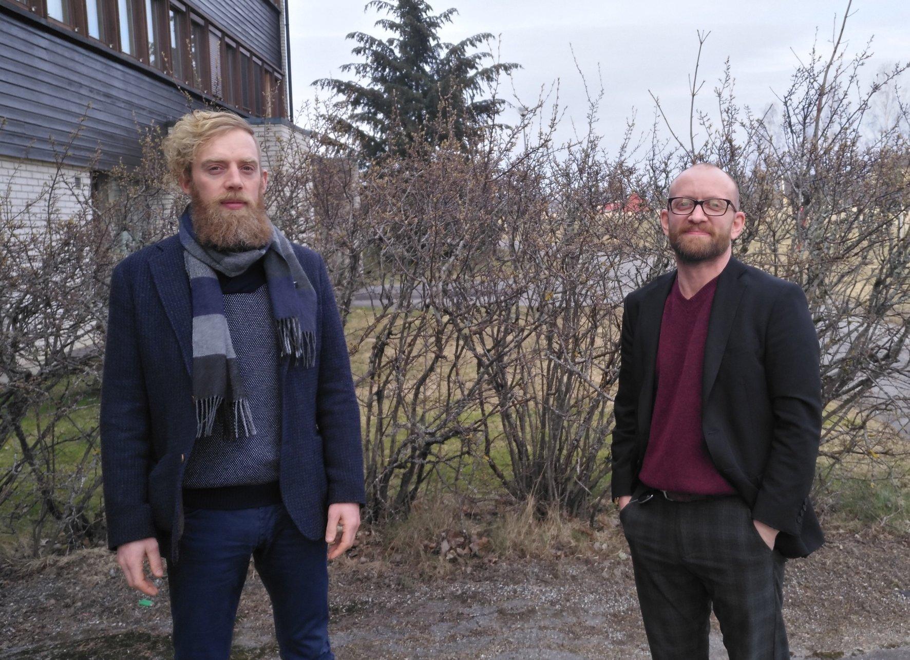 Olav Weng - kommunalsjef HOS - Aksel I. Edgar-Lund - kommunikasjonskons. - Enebakk kommune webvennlig.jpg