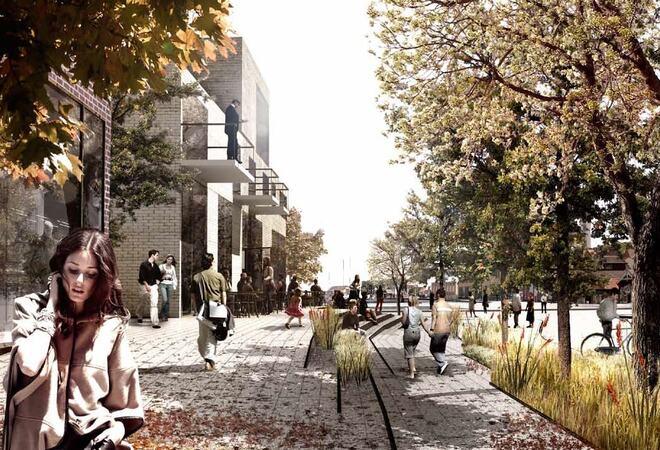 Fremtidens Vestby Illustrasjon