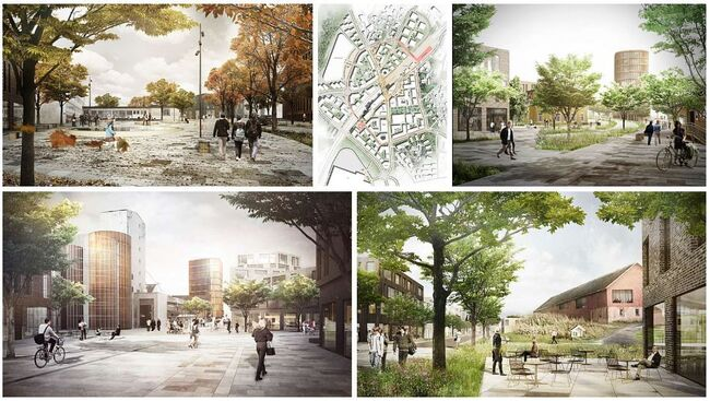 Fremtidens Vestby_collage