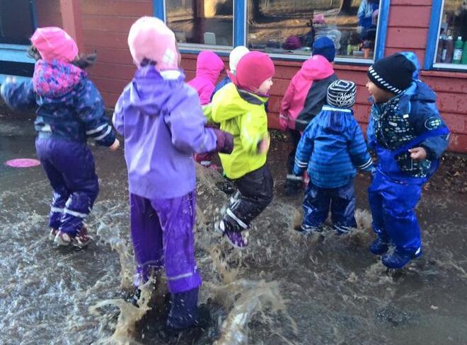 Barnehagene i Vestby fortsetter på grønt nivå. Foto: Vestby kommune