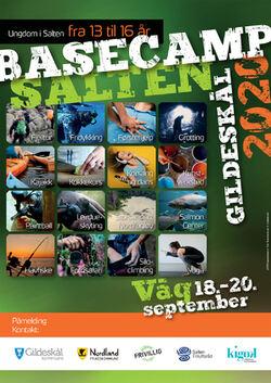 Plakat Basecamp Salten 2020