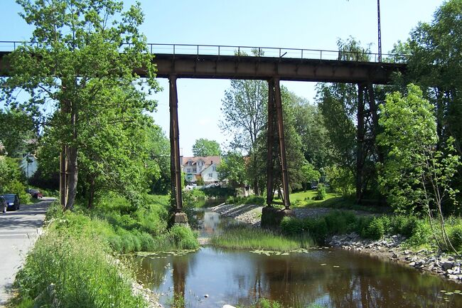 Hølen jernbaneviadukt foto Chris Nyborg