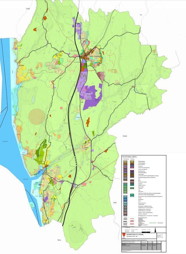 Gjeldende kommuneplan Vestby 2019-2030