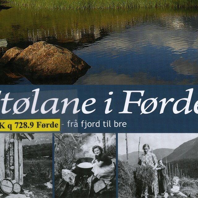 bilete av framsida til boka Stølane i Førde.