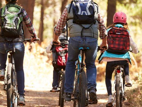 Vi oppfordrer alle til å bruke sykkelen Foto Trygg Trafikk