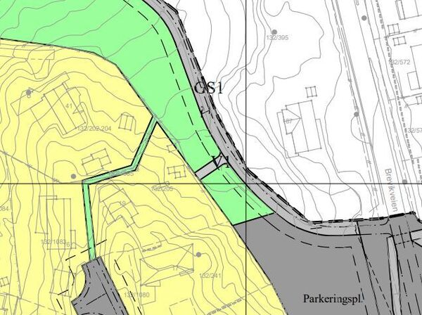Vedtatt mindre endring av reguleringsplan for Søndre Brevik