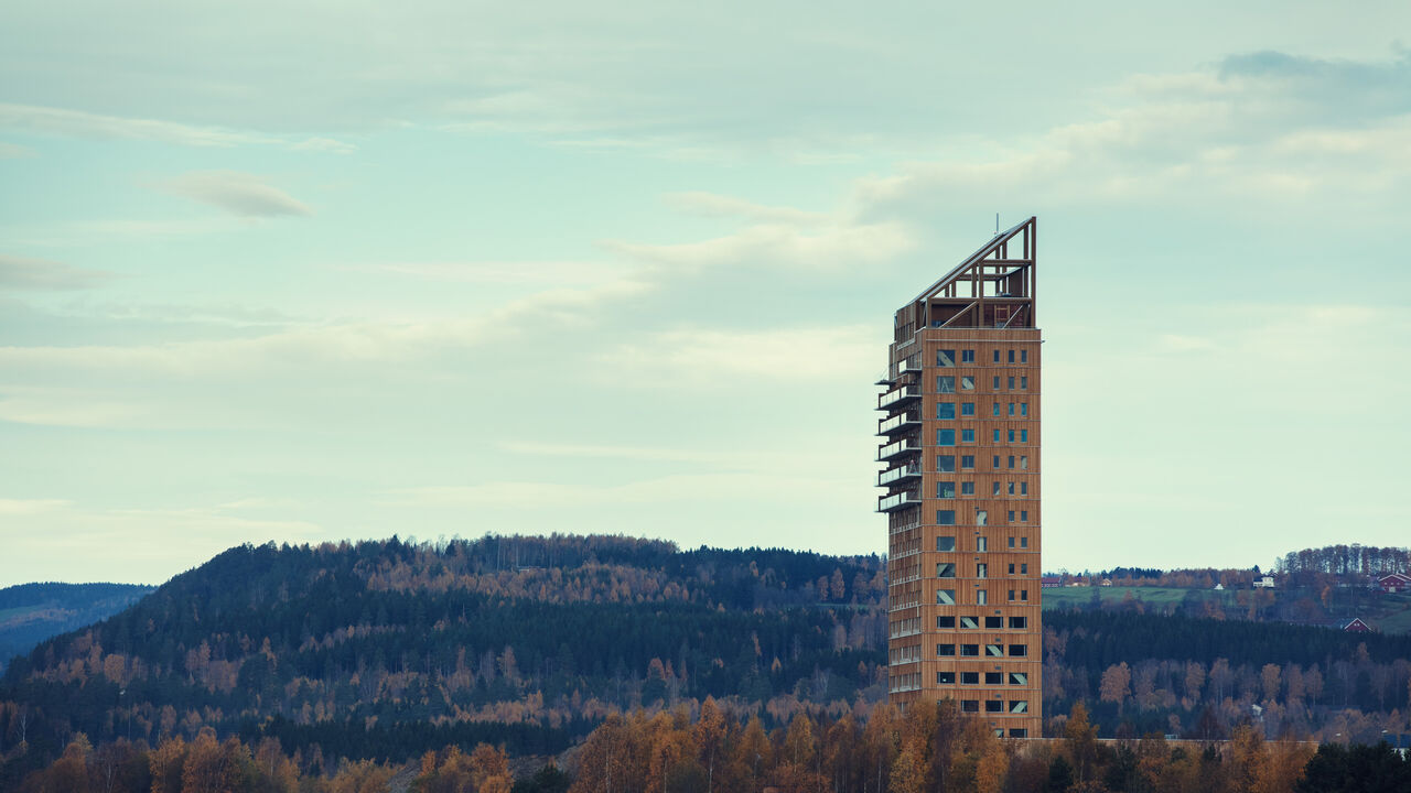 Mjøstårnet- foto: ANTI Hamar