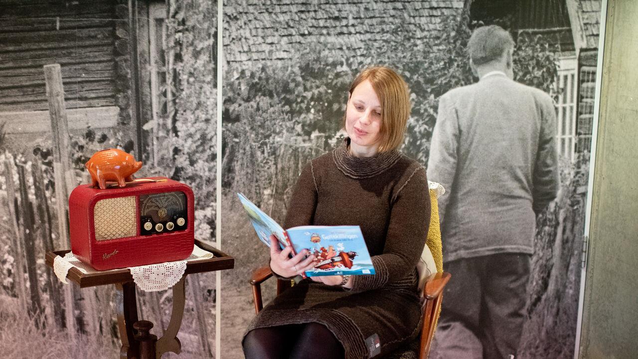 Foto av fortellerstund