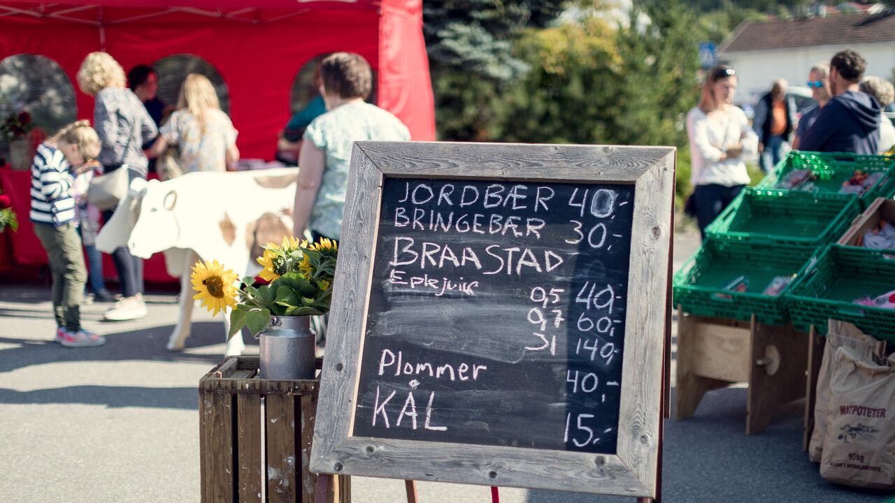 Velkommen til Bondens marked!
