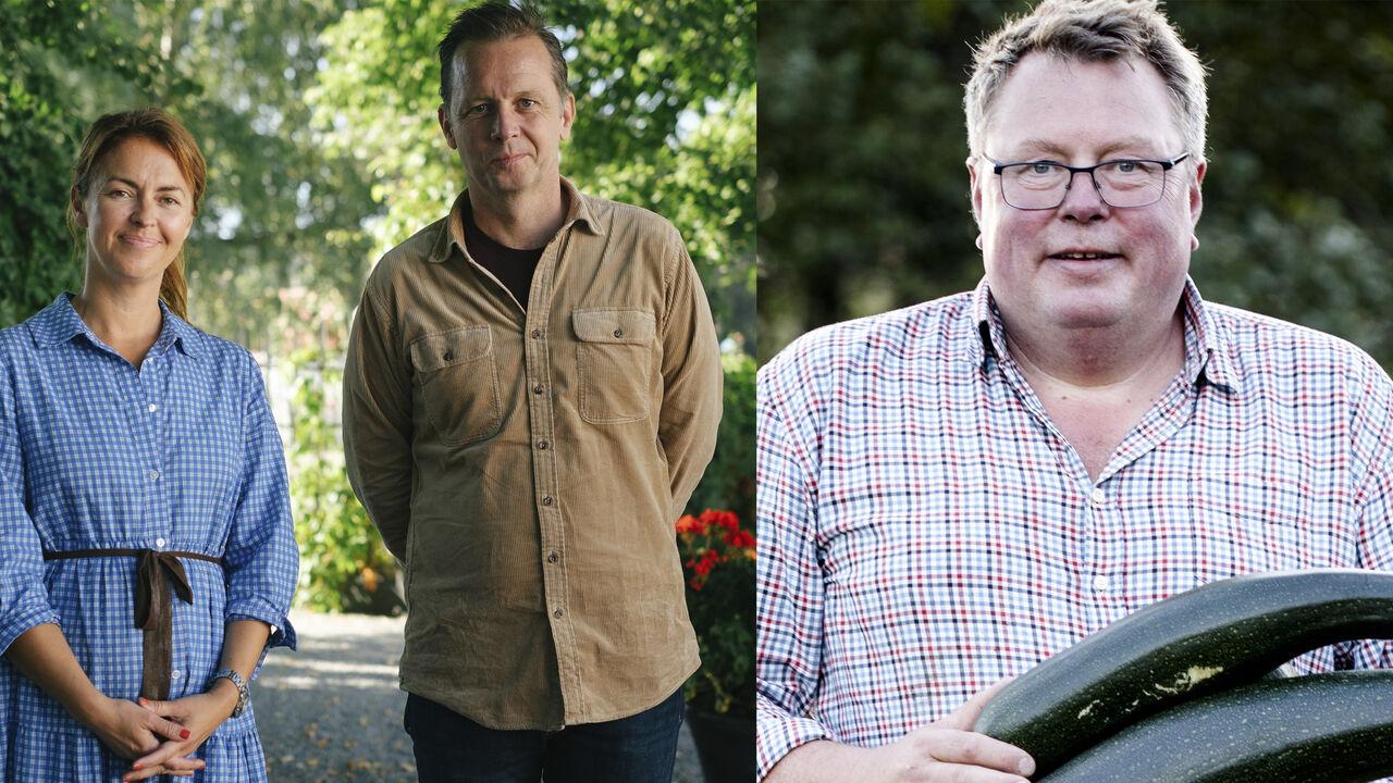 Charlotte Holberg Sveinsen, Andreas Viestad og Olav Lie-Nilsen