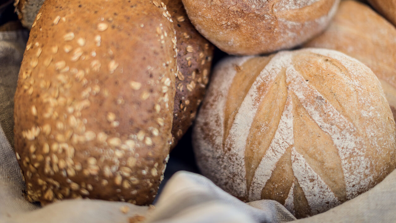 Foto av brød