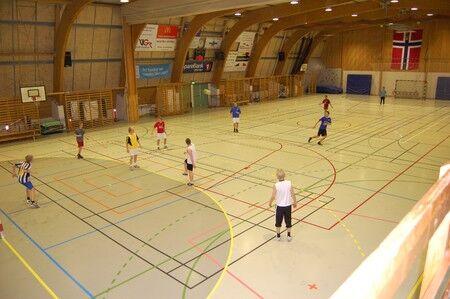 Idrett i Vestby arena Foto: Vestby kommune