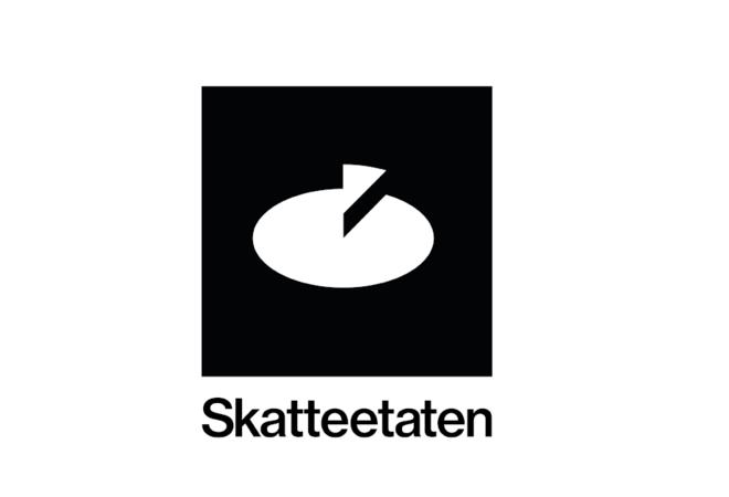 skatteetaten - logo svart kvit