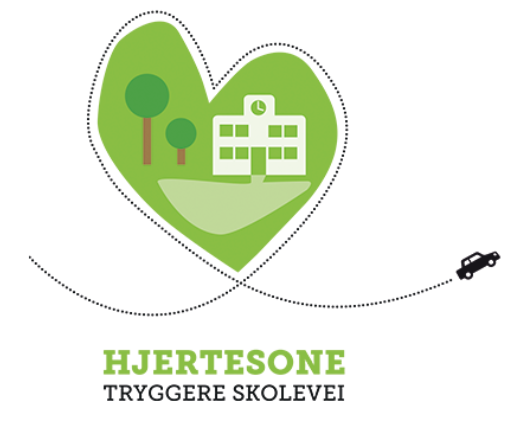 Logo for hjertesone