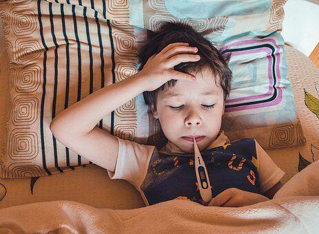 Influensa barn