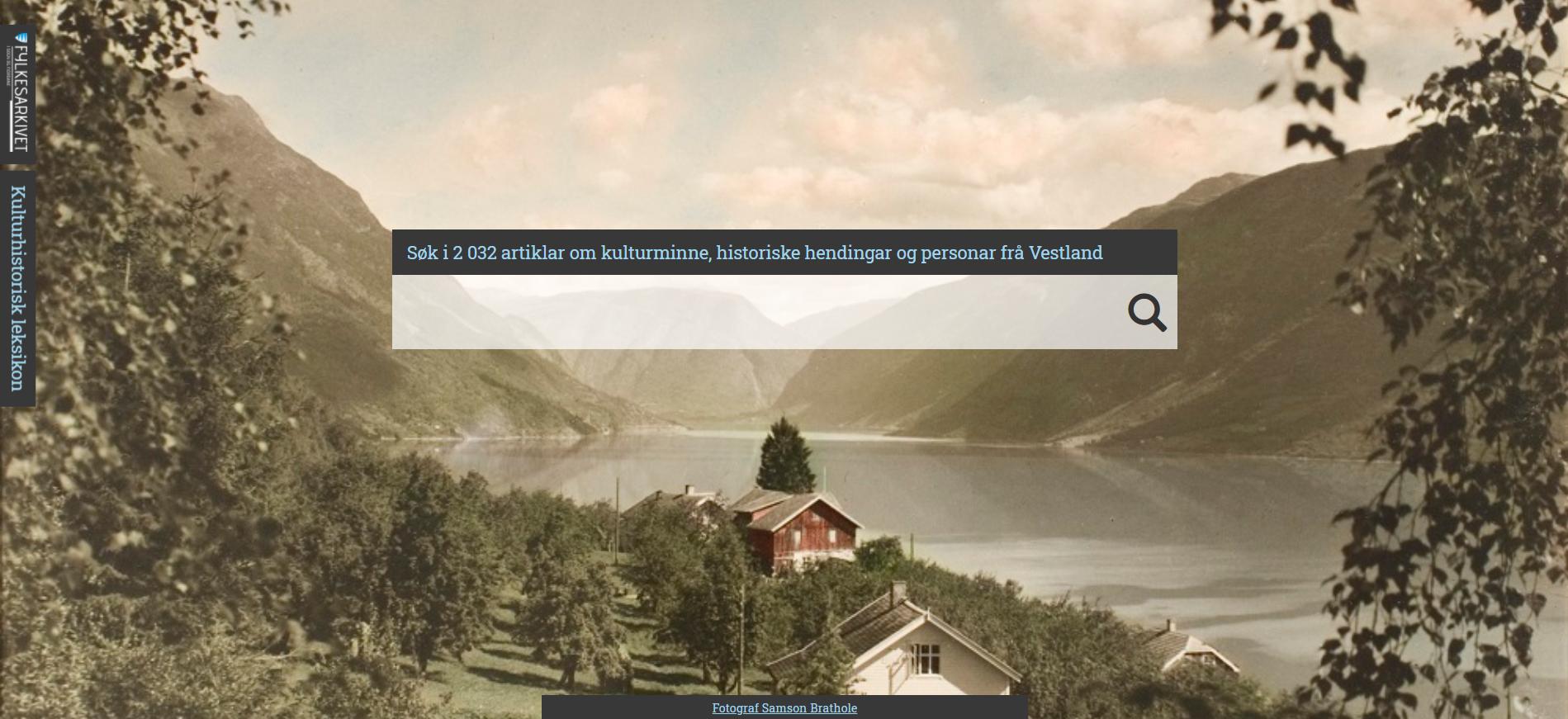 skjermbilete kulturhistorisk leksikon