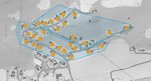 Kart Geilhaugen Vinjeøra