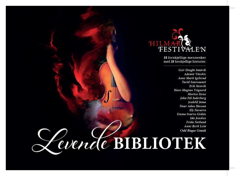 Plakat Levende bibliotek mOBG