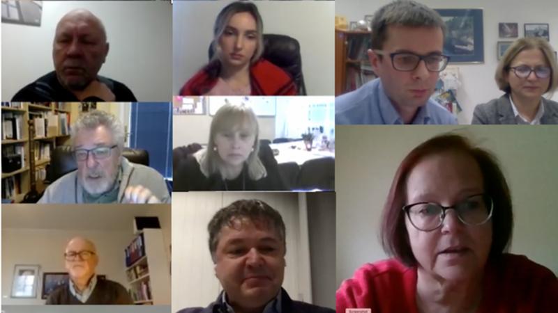 Some online participants, ICN 2020