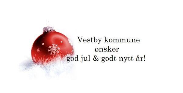 Vestby kommune ønsker god jul og godt nytt år!