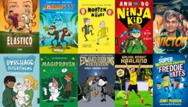 bøker til gutter 9-13 år