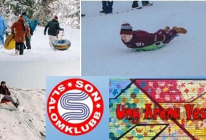 Bli med Ung Arena og Son Slalomklubb på uteaktiviteter!