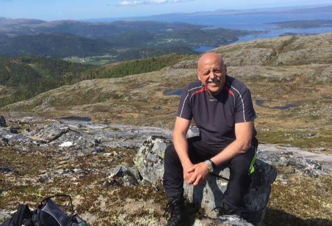 Odd Jarle fjelltur