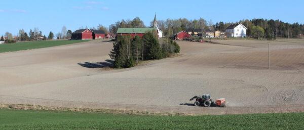 Forholdene for jordbruk er gode i Follo  Foto: Follo Landbrukskontor