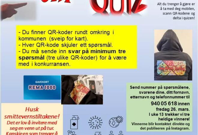 Bli med på Quiz med Ung Arena! Foto: Ane Isabelle Simble