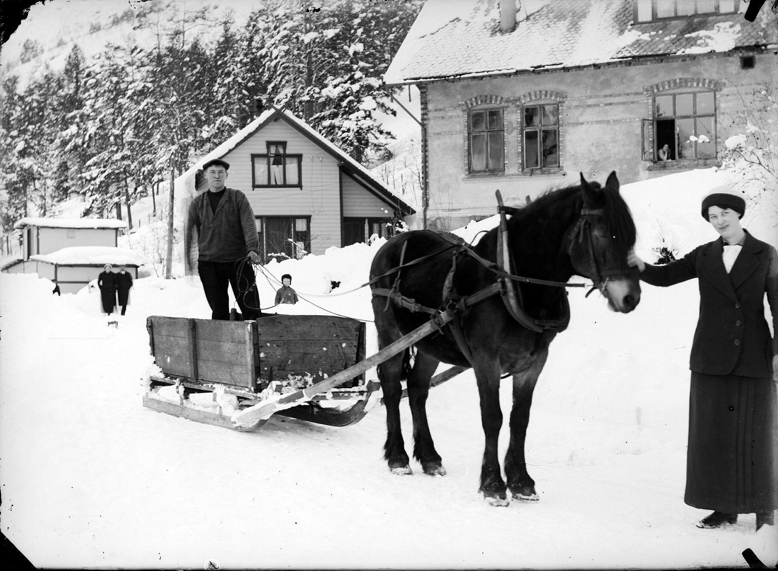 Kolkøyring på Lyster sanatorium ca 1918