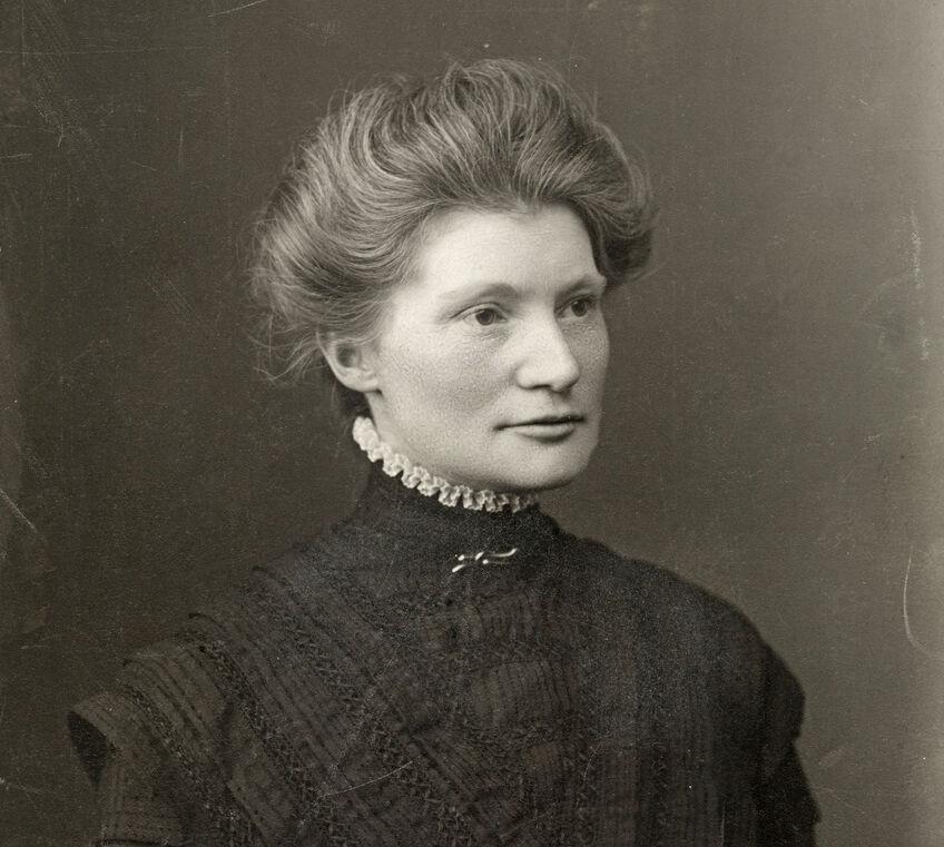 Bilete av Martha Tynæs frå Arbeiderbevegelsens arkiv og bibliotek. Foto: Forbech, T. Kristiania