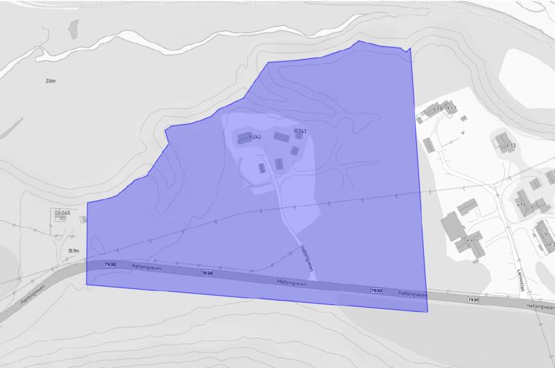 Planområde Larsvollen (B18)