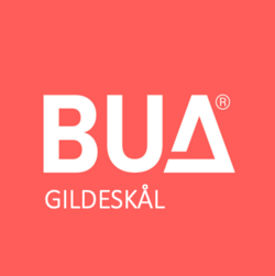 BUA logo rød