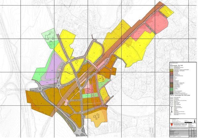 Eksempel. Plankart. Vestby kommune