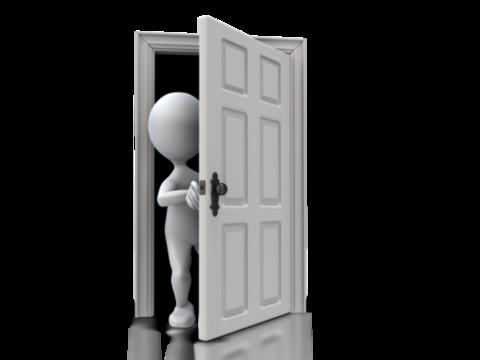 Åpne dør