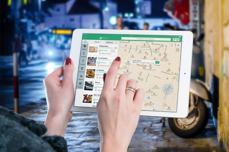 Digitalt kart (pexels.com)