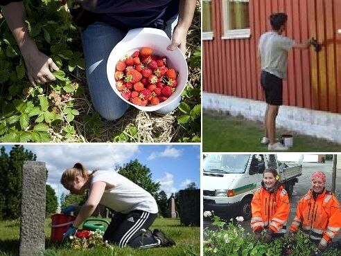 Mange unge søkte sommerjobb! Foto: Vestby kommune