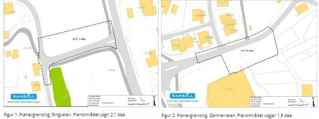 Oppstart av planarbeid for renovasjonsarealer i Brevik. Kartskisse