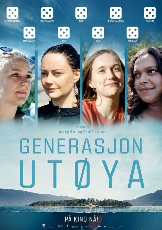 Generasjon Utøya Webplakat med terninger
