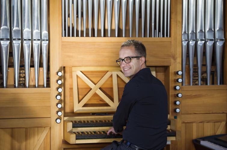 Orgel Haslum - foto Anders Bergersen