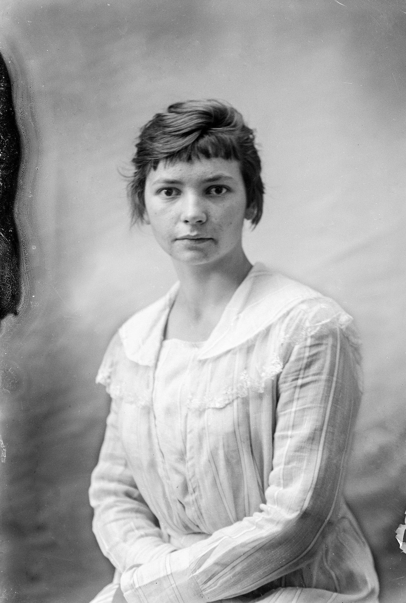 portrettfoto ung kvinne