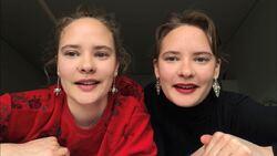 Haarla-søstrene portrett