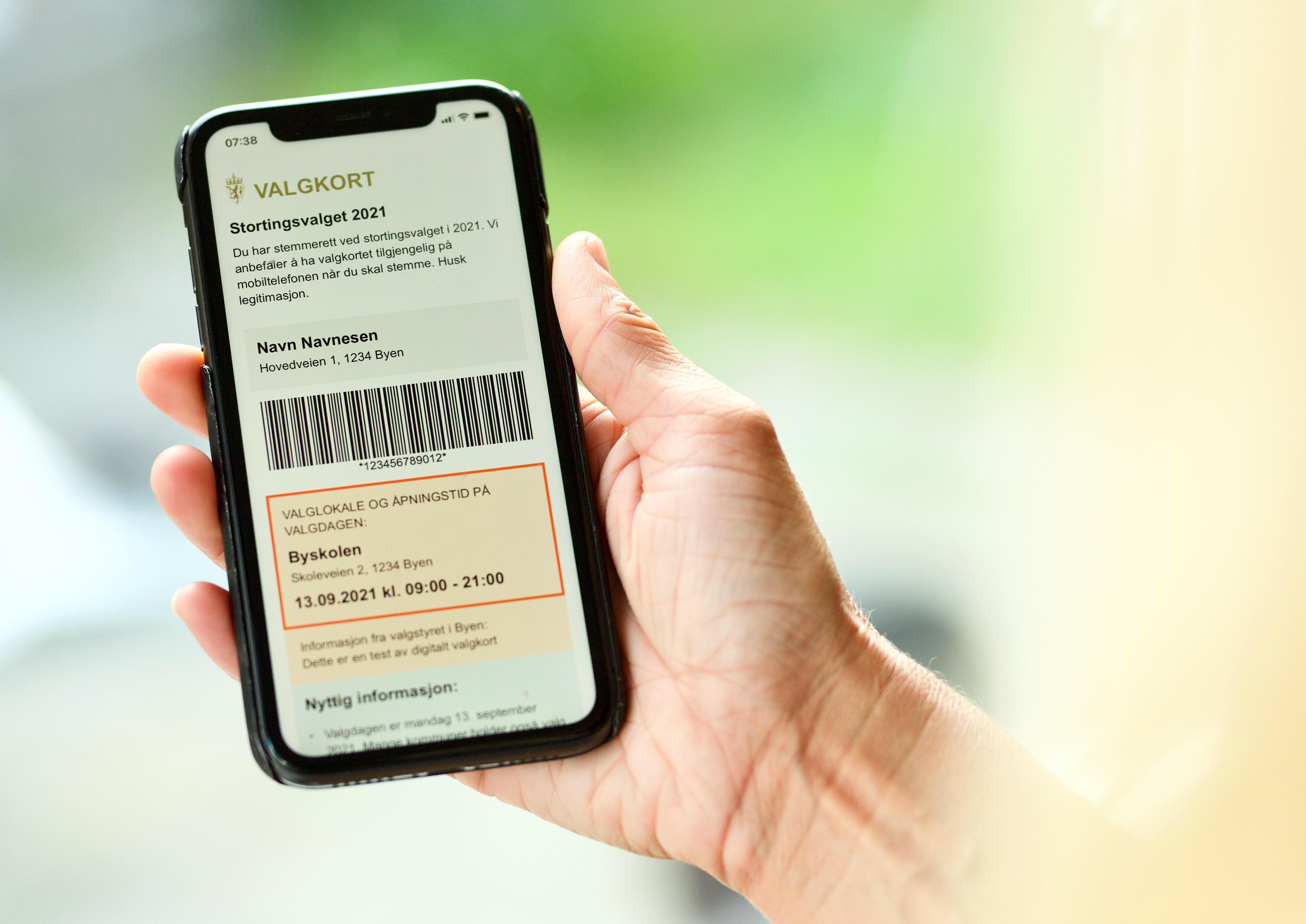 Valgkort digitalt - illustrasjonsbilde Valgdirektoratet.jpg