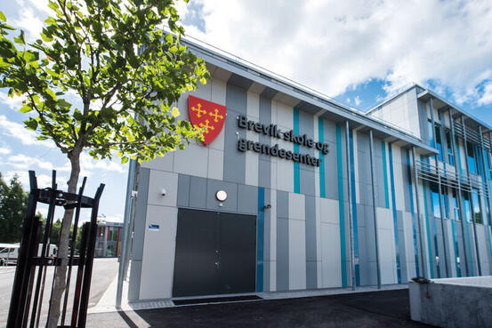 Brevik skole. Foto: Vestby kommune